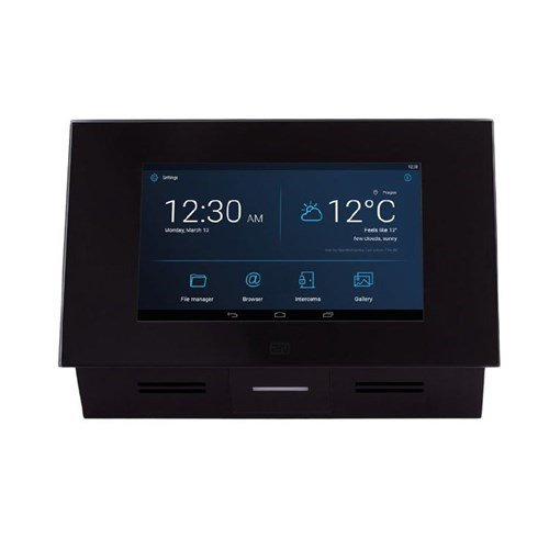 "2N Indoor Touch Answering Unit (PoE), Black, 7"" Touchscreen, 10W, HD Audio, Android OS"