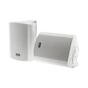 Wintal CLASS6AW, WHITE, PAIR, 2-WAY, 60W CLASS D AMP, IN & OUTDOOR ACTIVE SPEAKERS WITH STANDBY